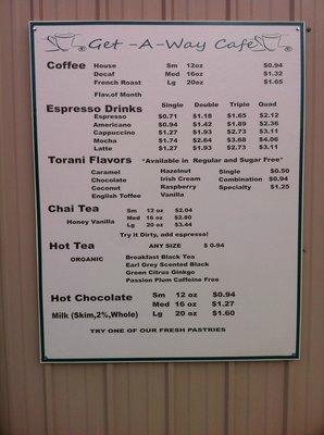 Get-A-Way Cafe