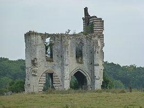 Ruines de l'Abbaye Notre Dame de Clairmarais