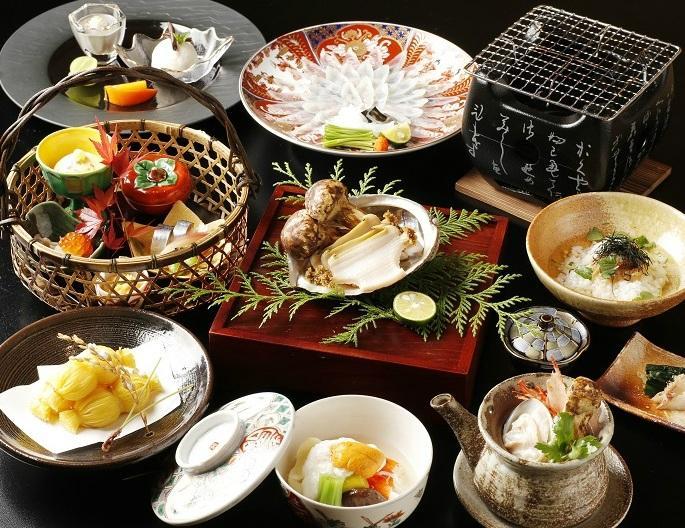 Japanese cuisine shimonoseki shunpanro tokyo chiyoda for Akasaka japanese cuisine