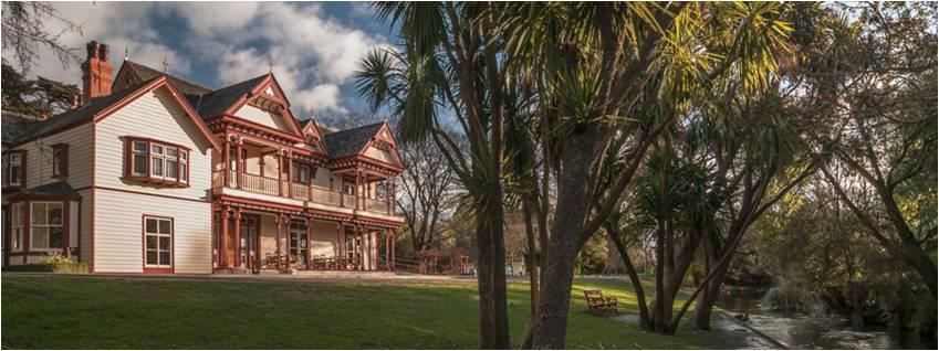 Riccarton House & Bush