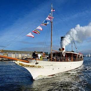 Steam Yacht ENA - Private Charters