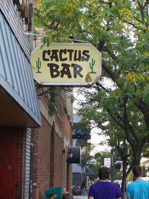 Cactus Bar Downtown Boise