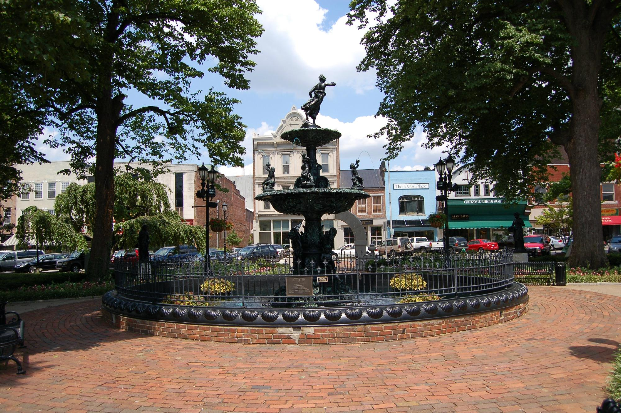 Downtown Fountain Square Park