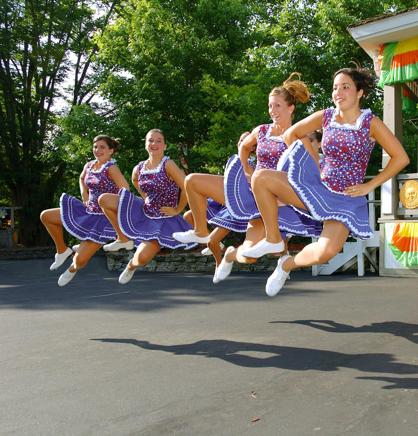 Championship Cloggers perform during Star-Spangled Summer