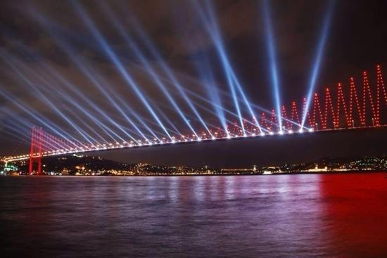 ‪Fatih Sultan Mehmet Bridge‬