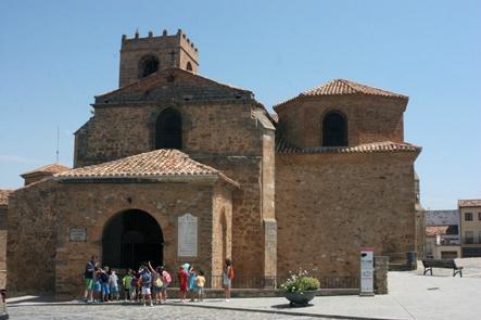 Iglesia de San Miguel, Agreda