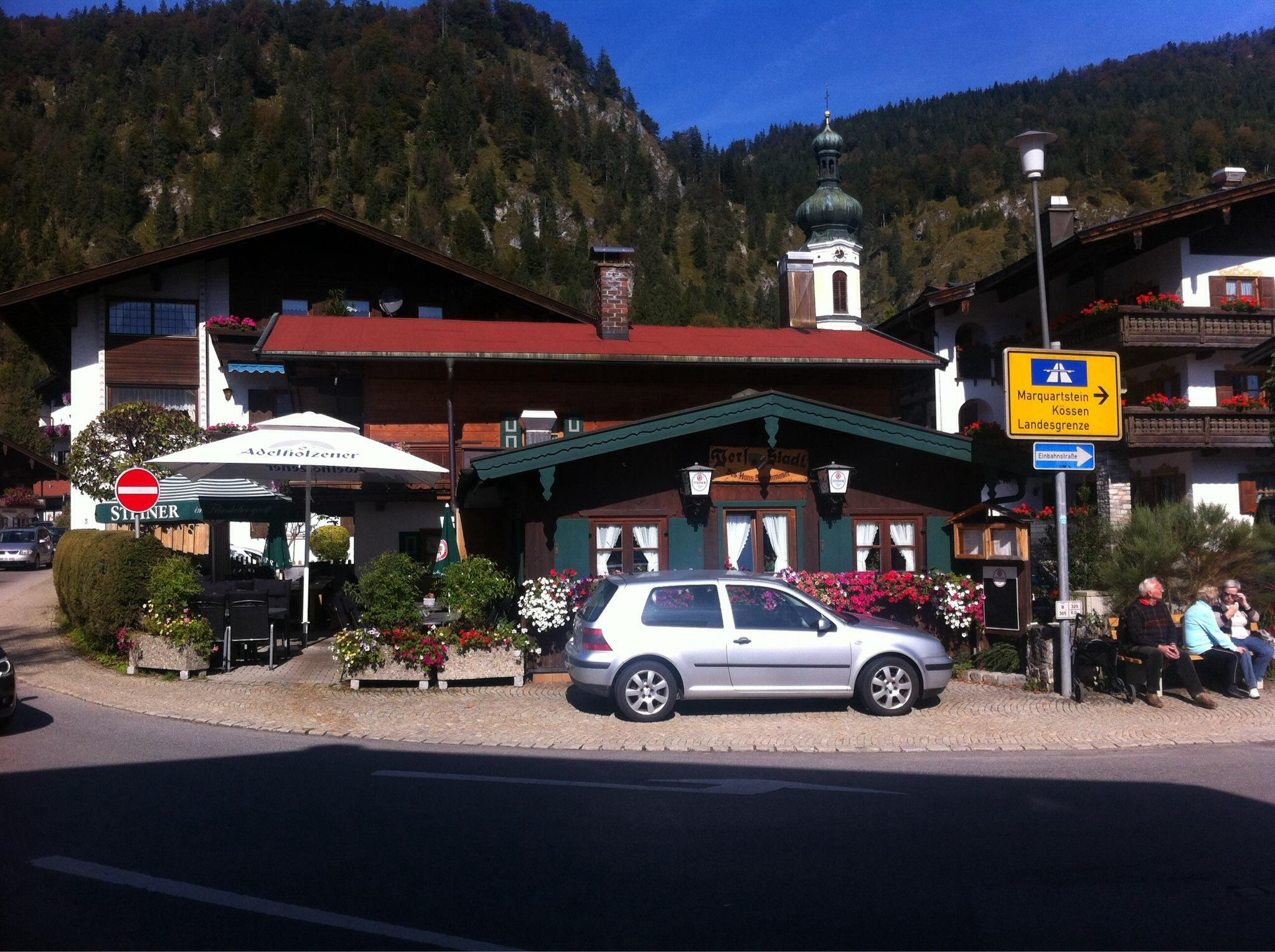 Best German food near Kossen, Austrian Alps, Austria