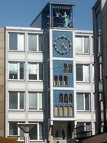 Glockenspiel am Deiterhaus