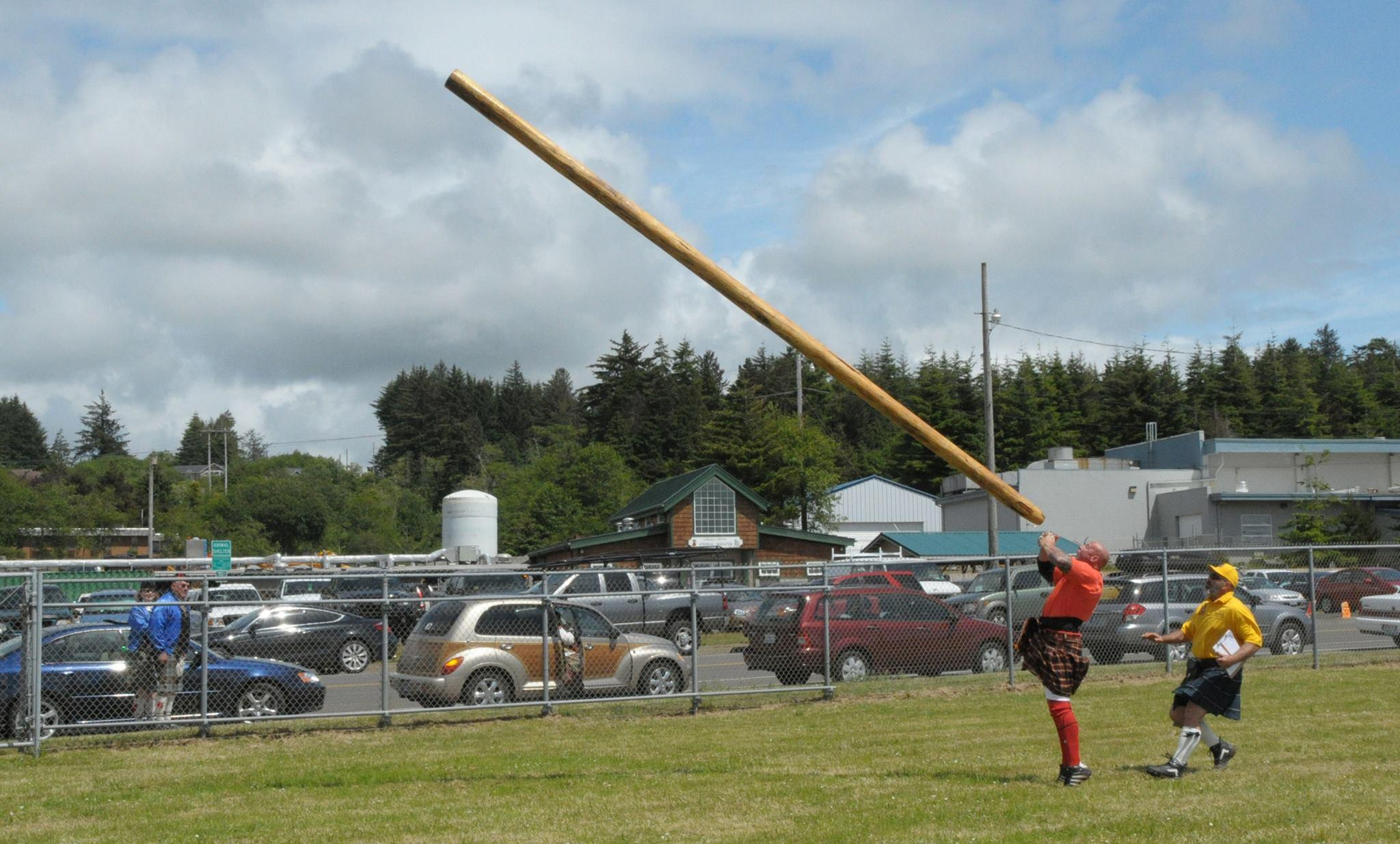 Head to Newport on the 2nd weekend in June for their annual Celtic Festival & Highland Games!