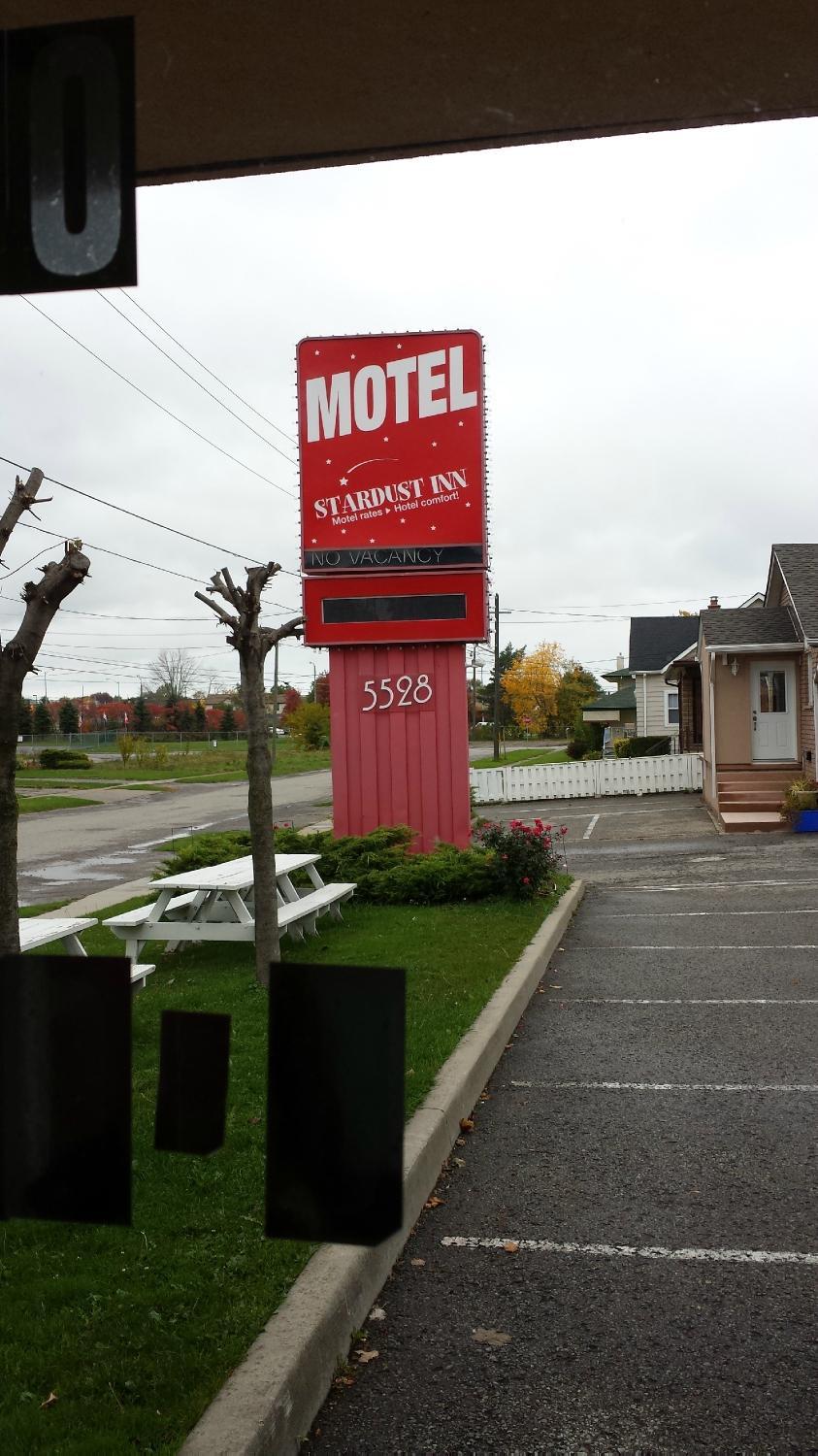 The Olympia Motel Niagarafallen Kanada Omd Men Och
