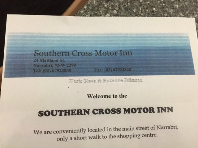 Southern Cross Motor Inn Narrabri Australien Motel