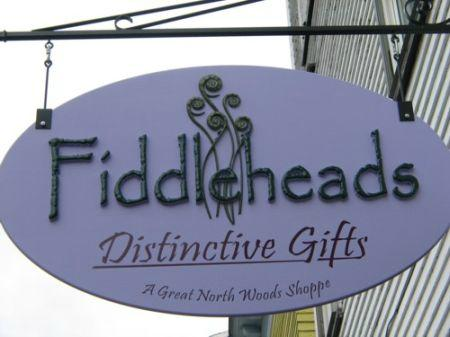 Fiddleheads A Great North Woods Shoppe