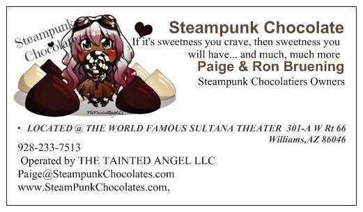 SteamPunk Chocolates & Spectors