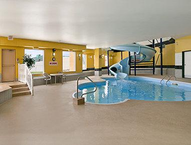 Indoor pool and hot tub with a slide  Days Inn Prince Albert $79 ($̶1̶0̶2̶) - UPDATED 2018 Prices ...