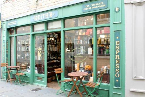 Keiths Coffee Shop