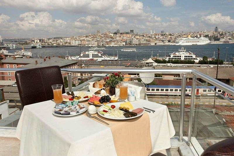 Sayeban gold hotel istanbul updated 2017 reviews price for Terrace hotel breakfast