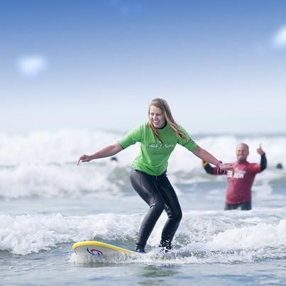 Surf & Sun Surf Lessons