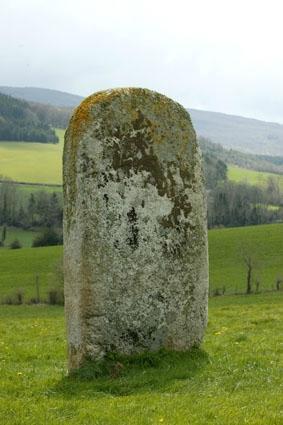 Statue-Menhir de la Pierre Plantée