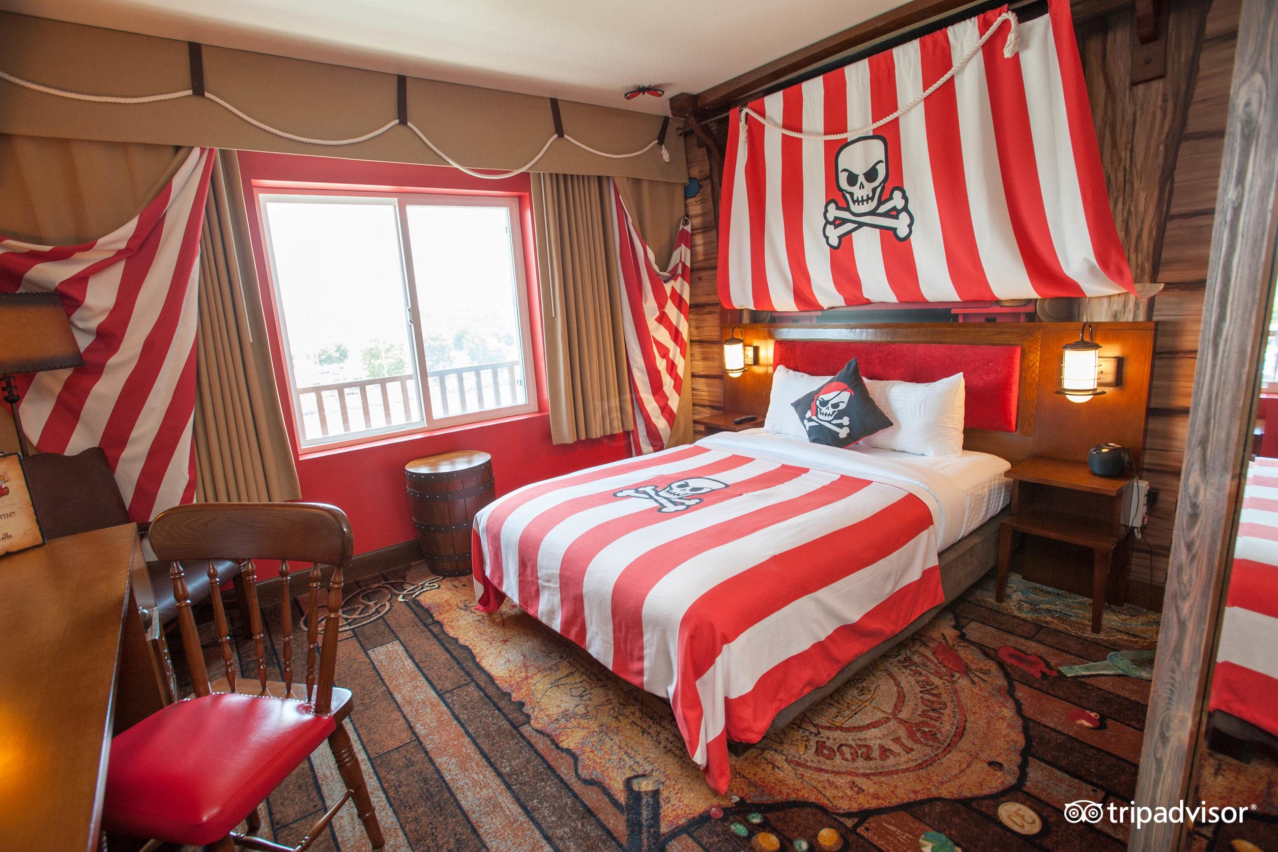Pirate Themed Bedroom Legoland California Hotel Carlsbad Ca 2017 Review Family