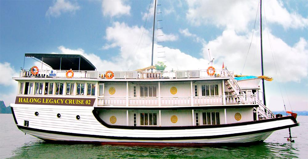 Legacy Cruises Day Tours Halong Bay All You Need To Know - Legacy cruise ship