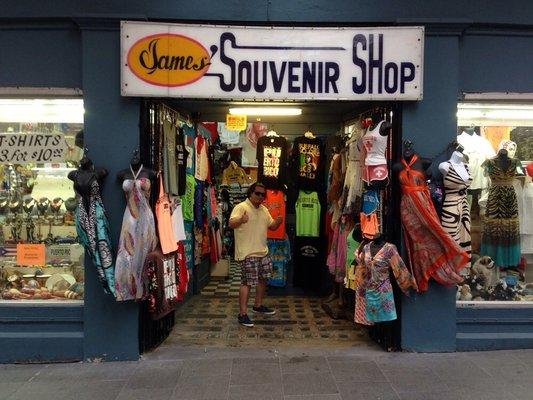 James Souvenirs Shop