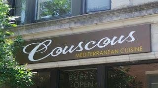 Couscous Restaurant Incorporated