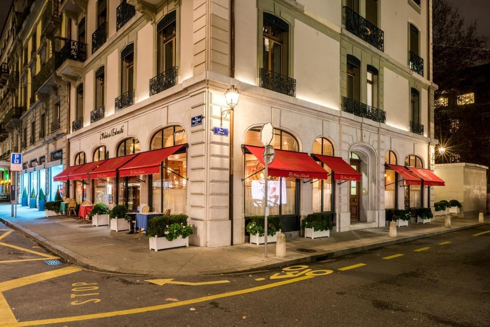 Le relais de l 39 entrecote genf rues basses longemalle for Apprentissage cuisine geneve