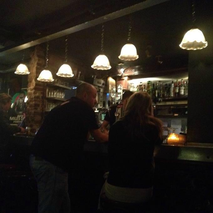 Enkelt cafe Haag