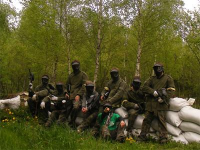 Park Adrenaliny Paintball Runow
