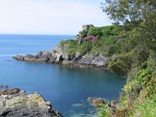 South West Coast Path - St Catherine's Castle, Fowey
