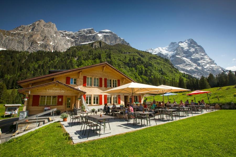 Chalet hotel schwarzwaldalp meiringen zwitserland foto 39 s reviews en prijsvergelijking - Interieur chalet berg foto ...