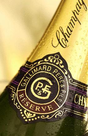 Champagne Gallimard P et F