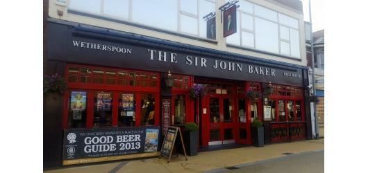 Sir John Baker, Portsmouth - JD Wetherspoon