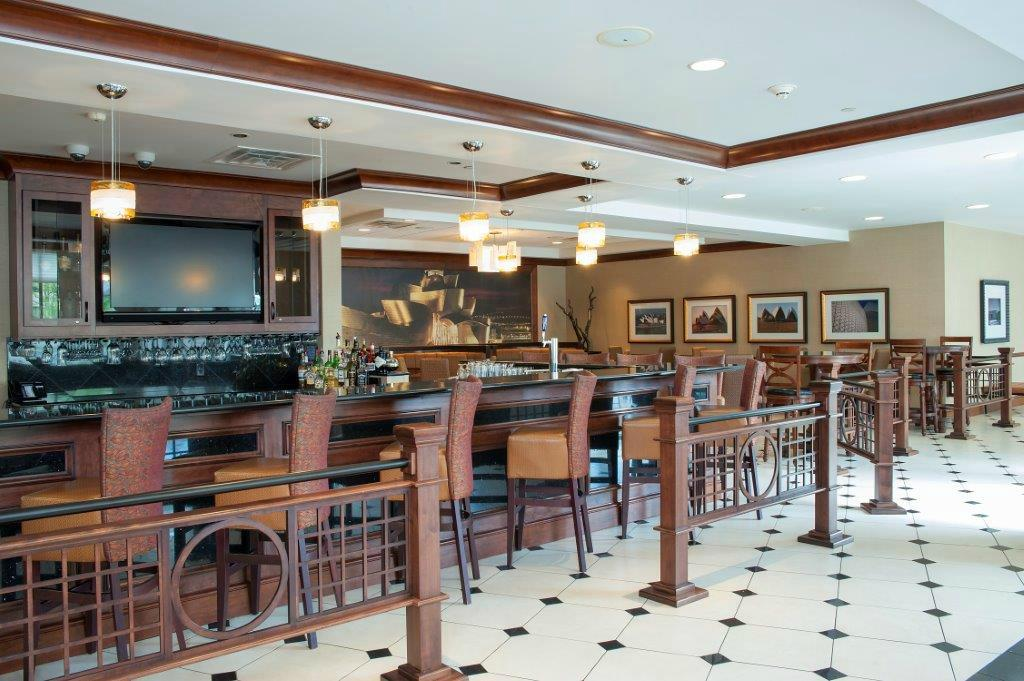 Beautiful ... Hilton Garden Inn Columbus/Edinburgh · The Great American Grill