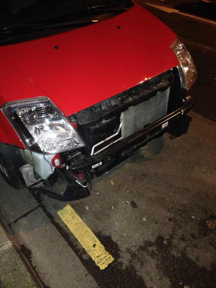 Notre véhicule sur le parking du kinépolis Lomme