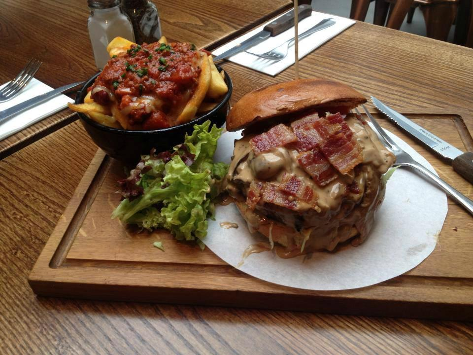 Restaurants carnaby burger co in city of london for American cuisine london