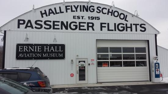 ‪Ernie Hall Aviation Museum‬