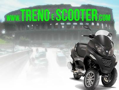 Treno e Scooter Vespa Rent