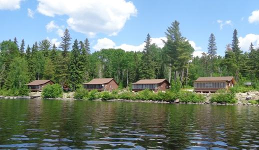 Northern Pine Camp Lakefront Cabins