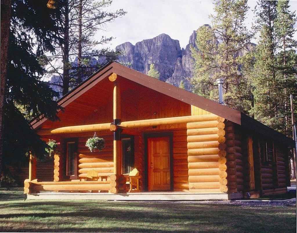 Castle Mountain Chalets Banff Canada  Campingplads