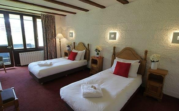 Chalet Hotel Hauts de Toviere