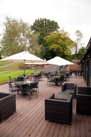 Terrace Bar at Sweetwoods Park Golf Club