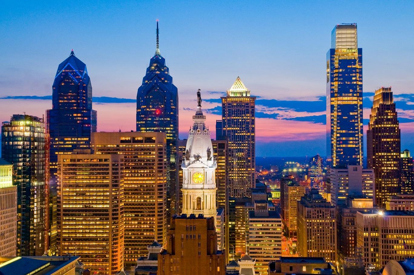 Vue de Philadelphie-Photo by Bob Krist for the PCVB