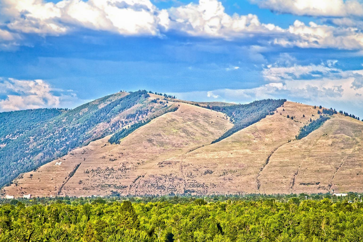 A view of the Missoula Valley