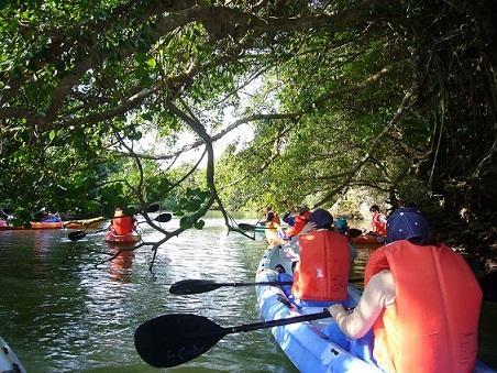 石垣島獨木舟體驗營