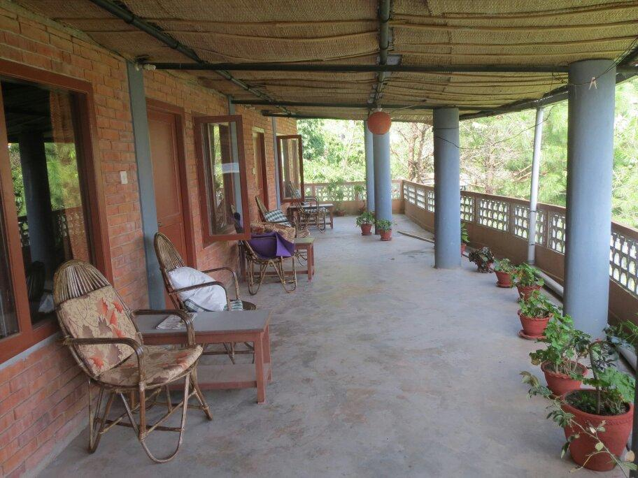 Vienna lake lodge pokhara nepal omd men tripadvisor for Terrace 2nd floor