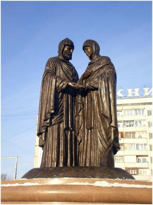 Monument to Peter and Fevronia