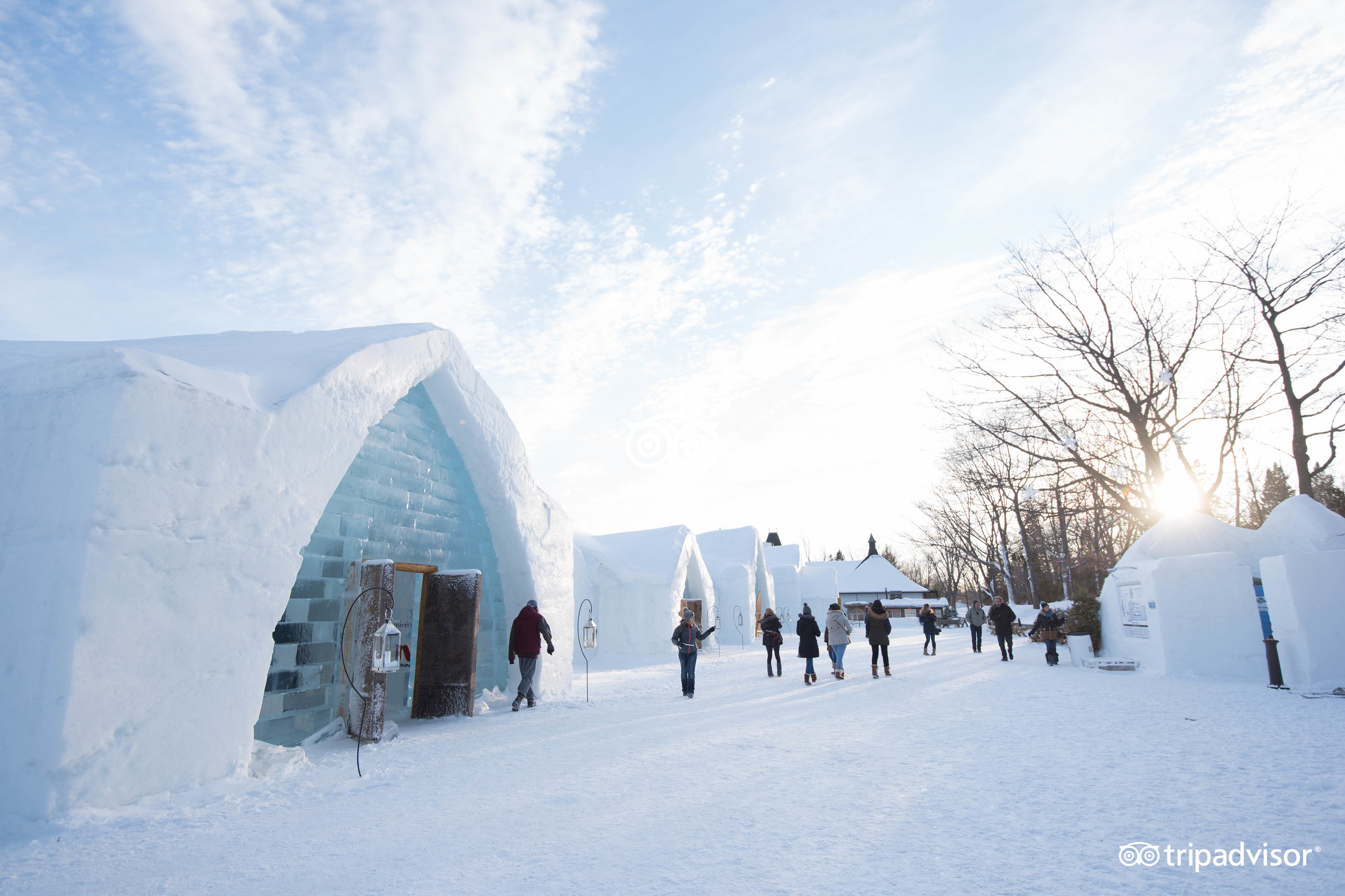 Hotel De Glace Quebec 2018 Review Family Vacation Critic