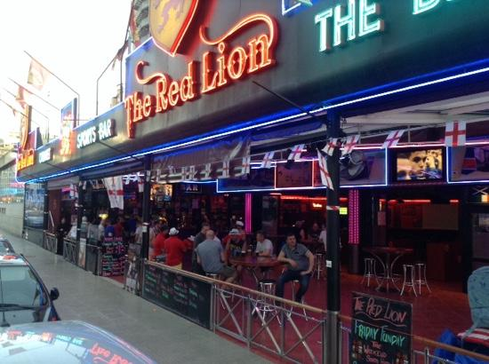 The Red Lion, Benidorm