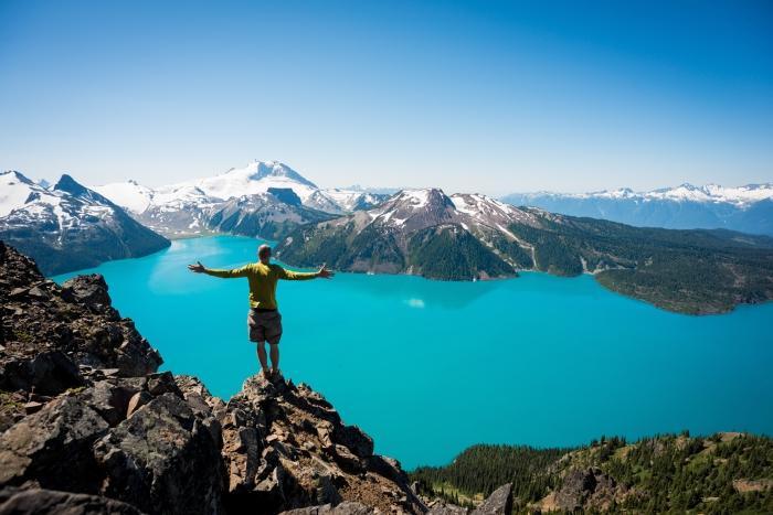 Hike to beautiful glacier lakes. Mike Crane